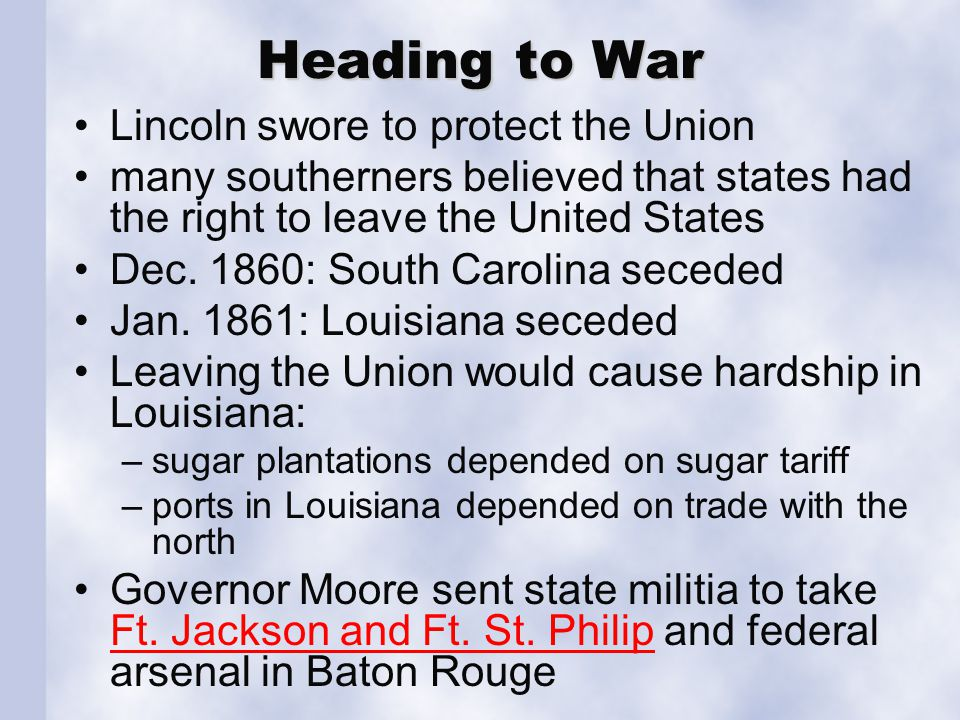 Secession January 26, 1861: Secession Convention votes to leave the Union. few leaders voted against the move.