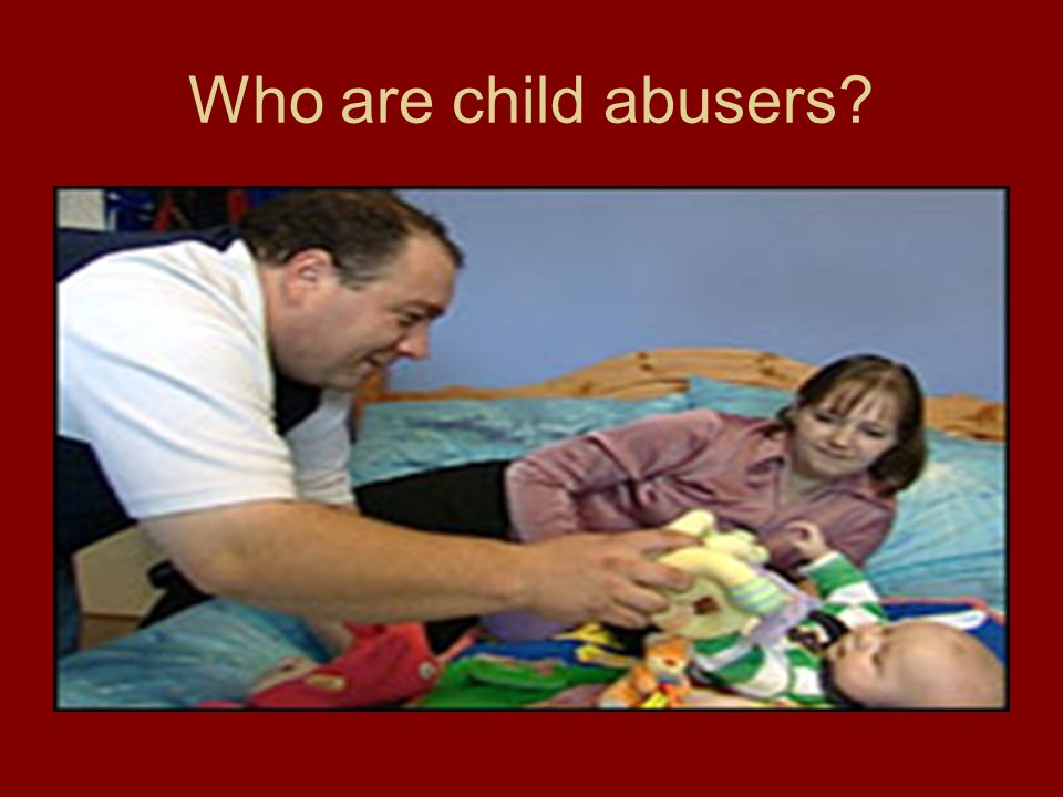 Who are child abusers. The Websters.