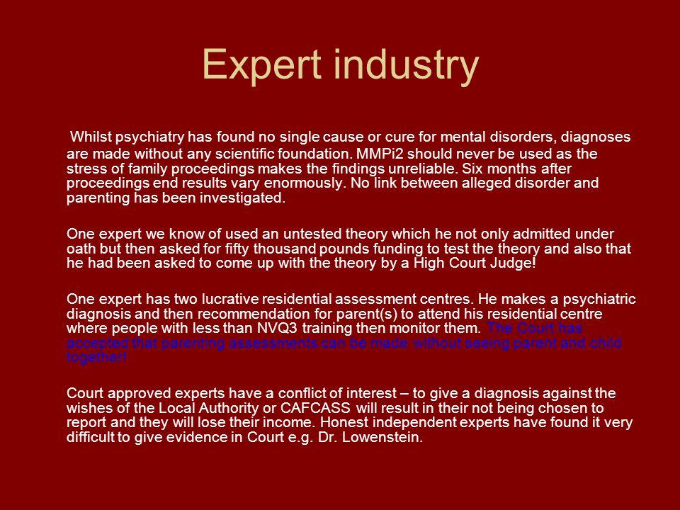 Expert industry