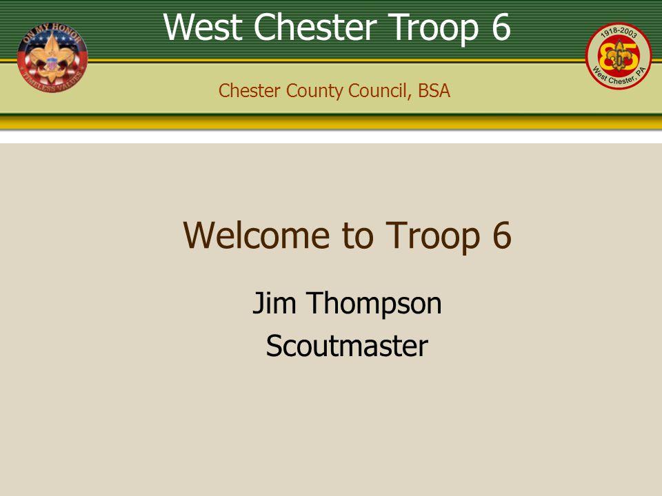 Jim Thompson Scoutmaster