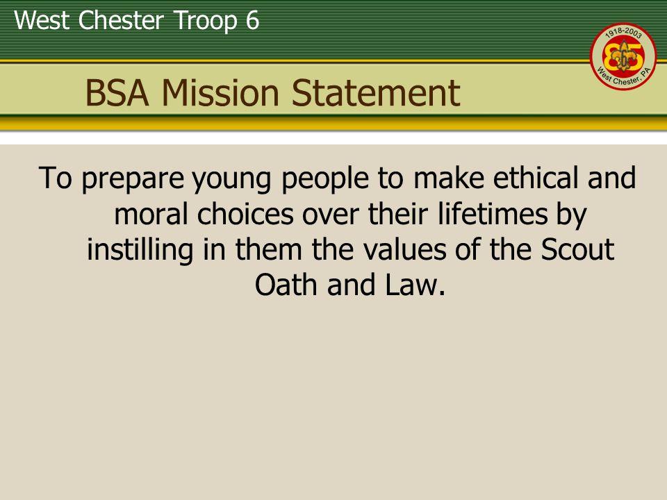BSA Mission Statement