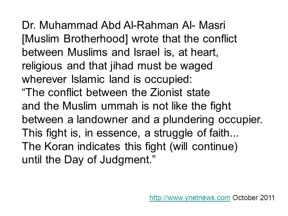 Dr. Muhammad Abd Al-Rahman Al- Masri