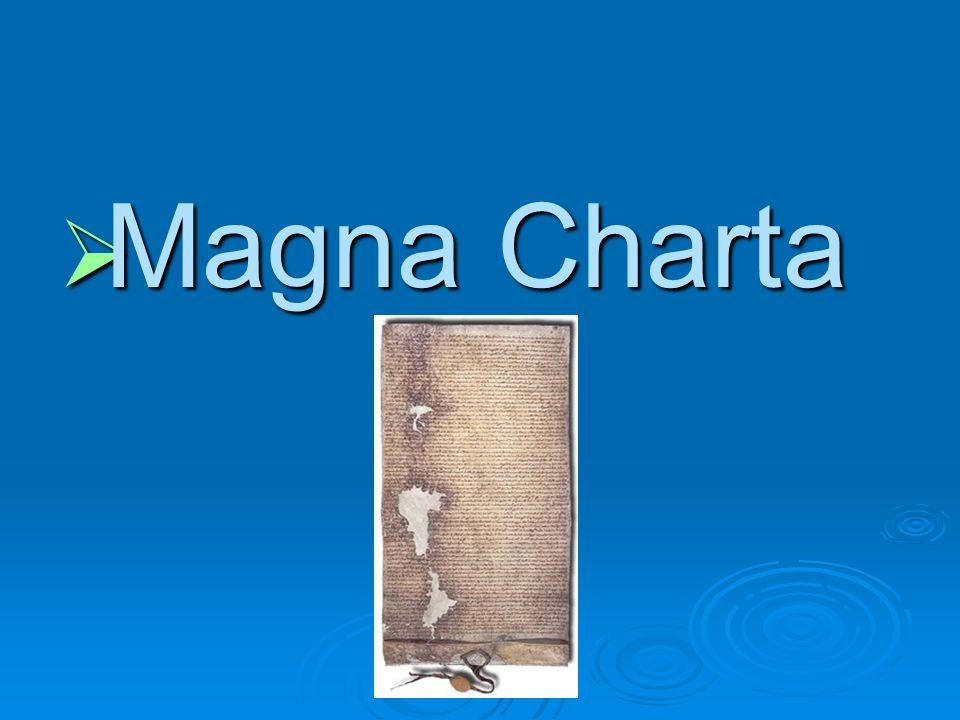 Magna Charta