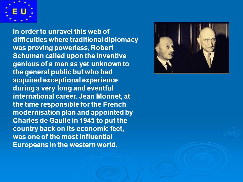 Jean Monnet s ideas