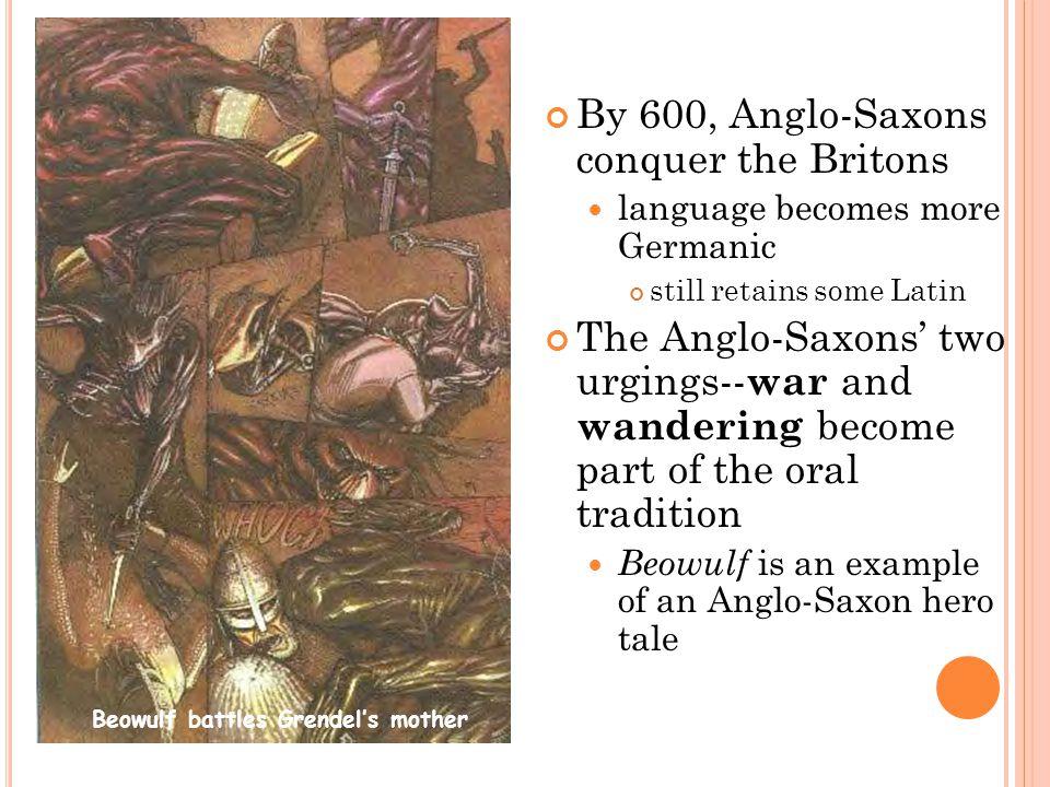 Beowulf battles Grendel's mother