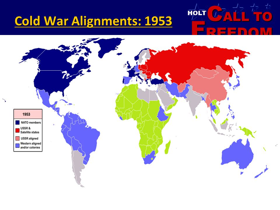 Cold War Alignments: 1953