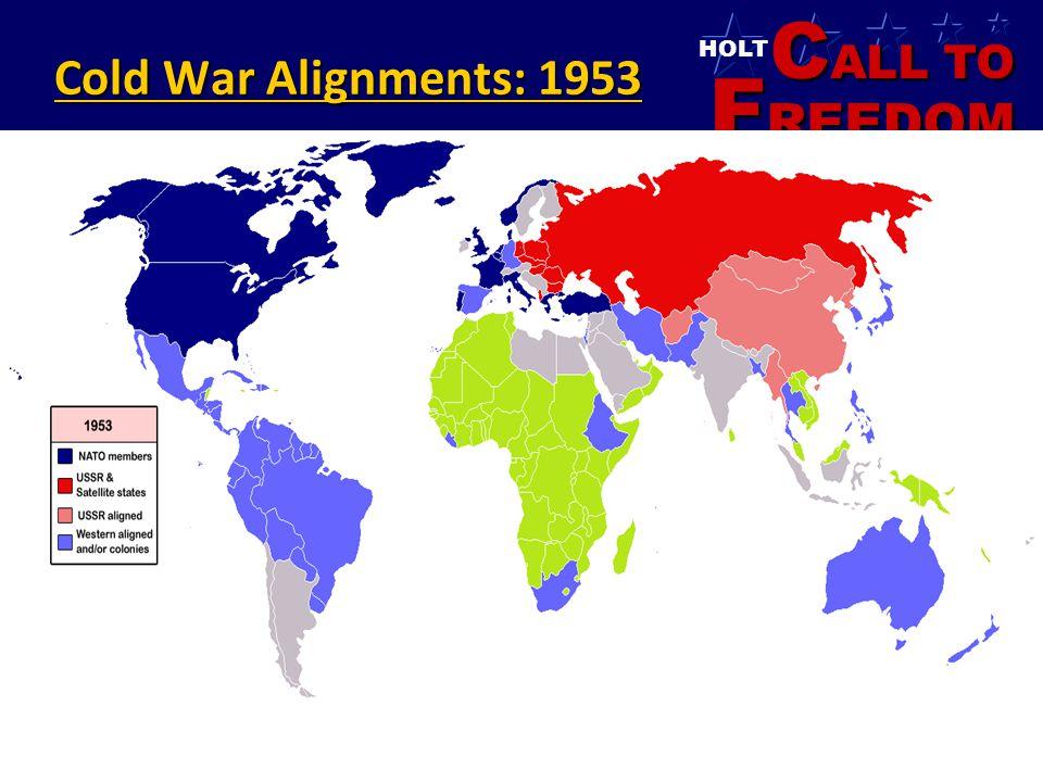 Cold War Alignments: 1953