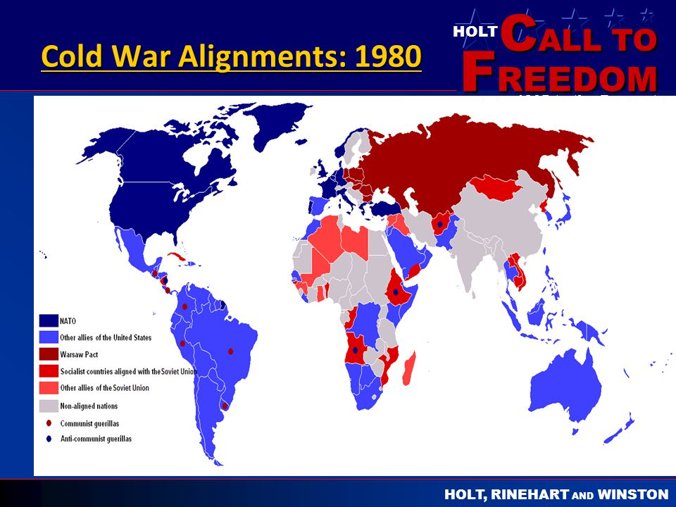 Cold War Alignments: 1980