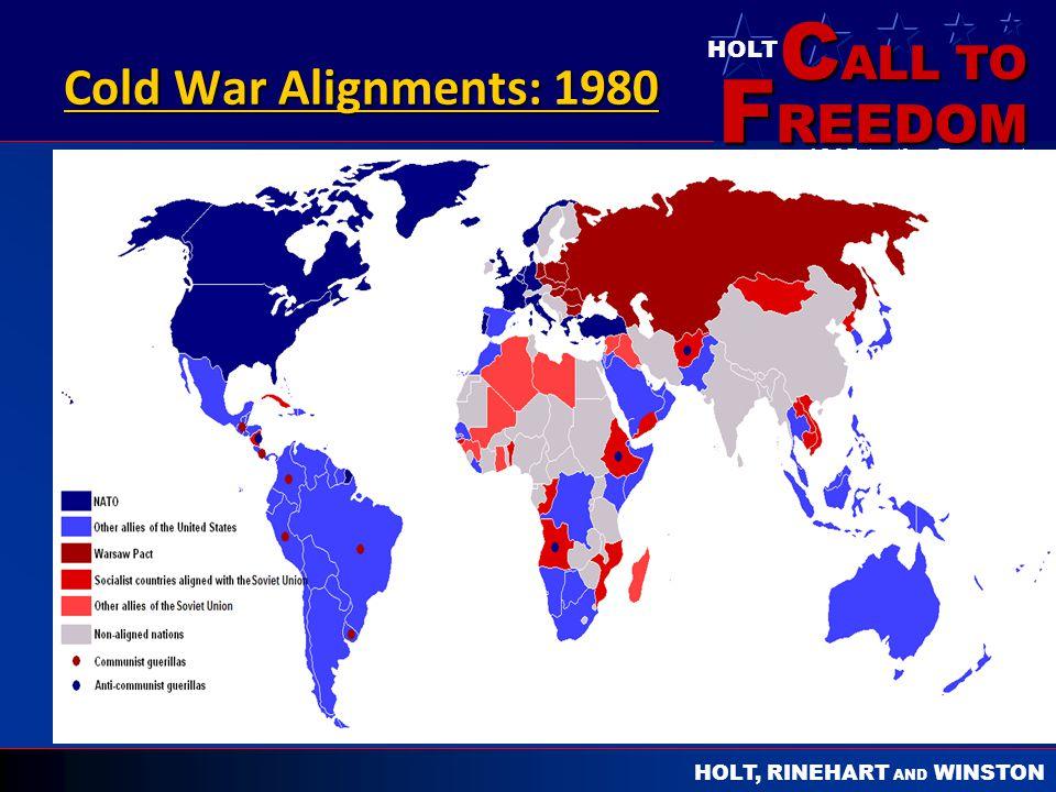 Cold War Alignments: 1980