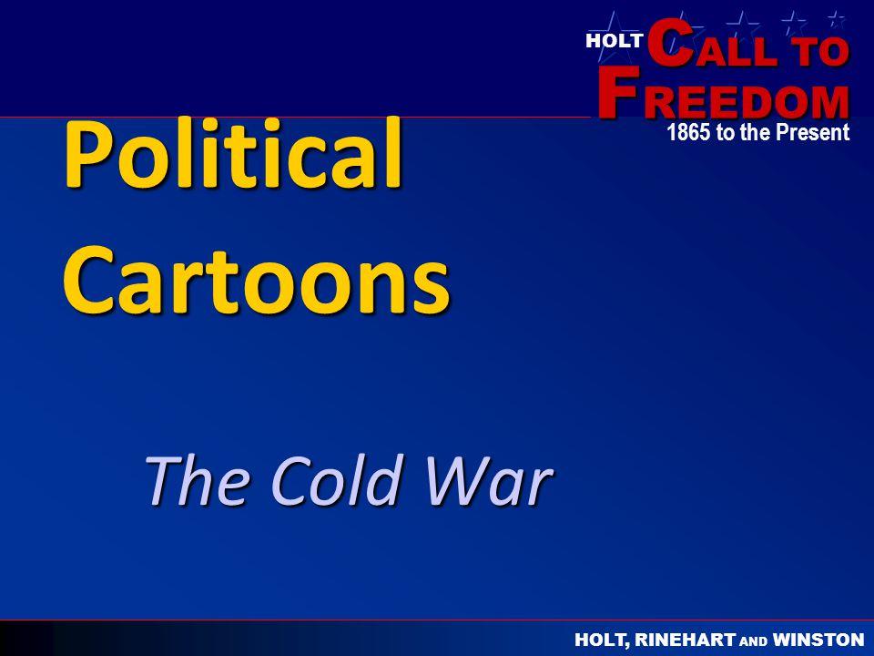 Political Cartoons The Cold War