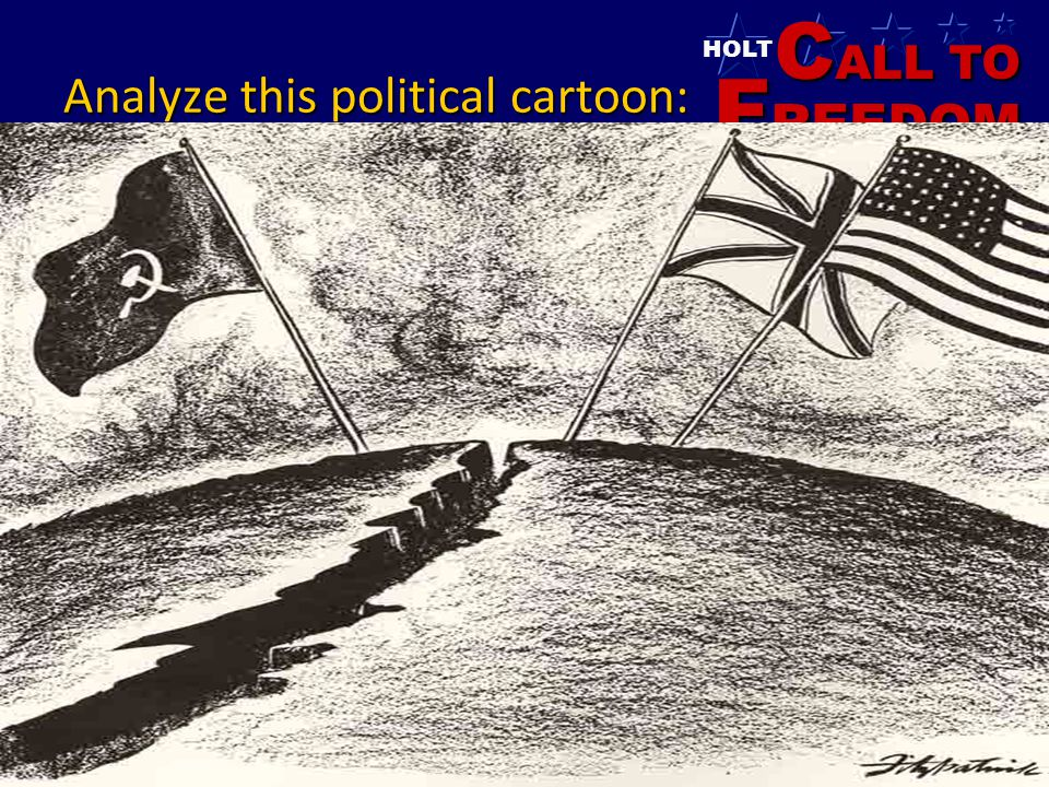 Analyze this political cartoon: