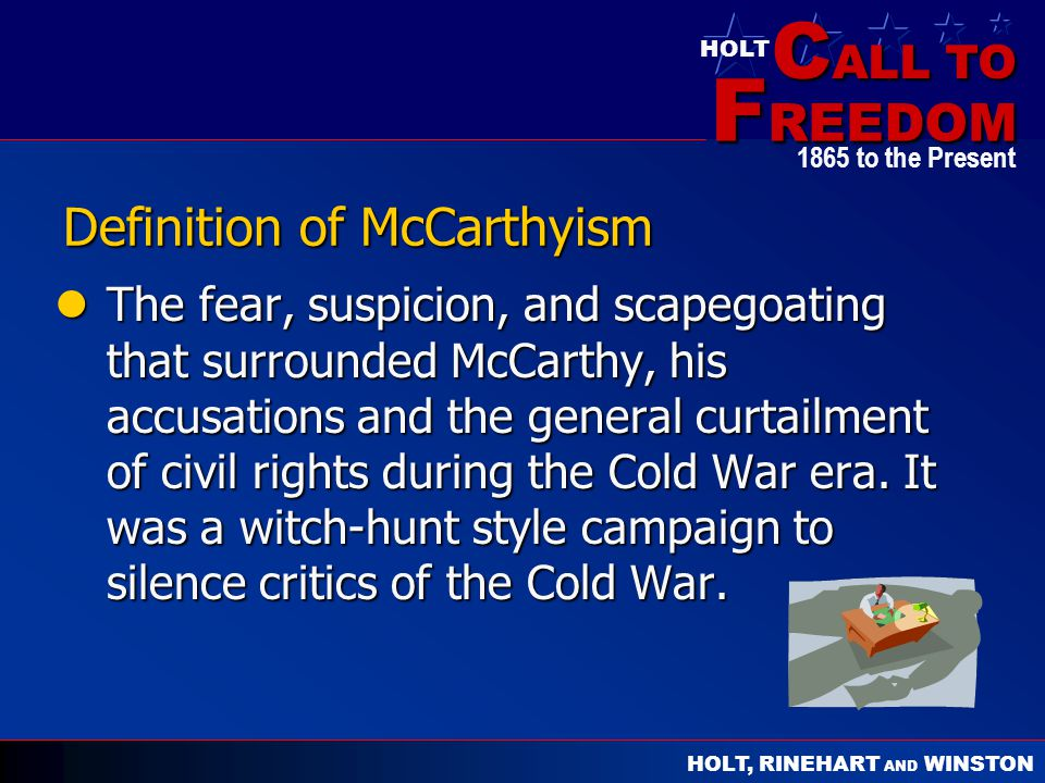 Definition of McCarthyism