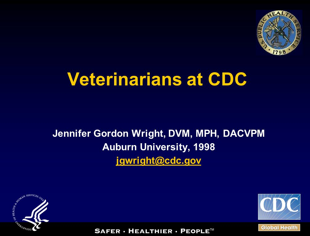 Jennifer Gordon Wright, DVM, MPH, DACVPM