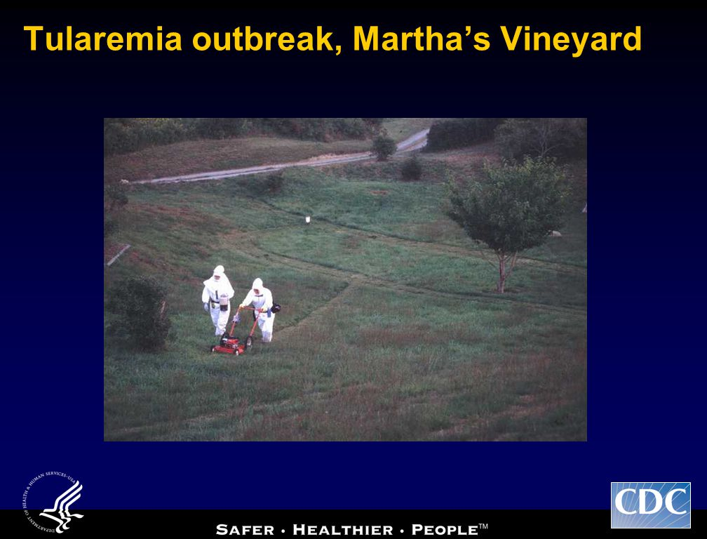 Tularemia outbreak, Martha's Vineyard