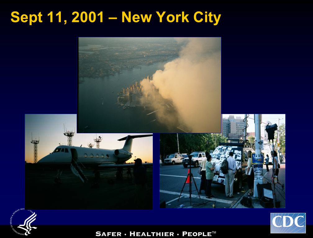 Sept 11, 2001 – New York City