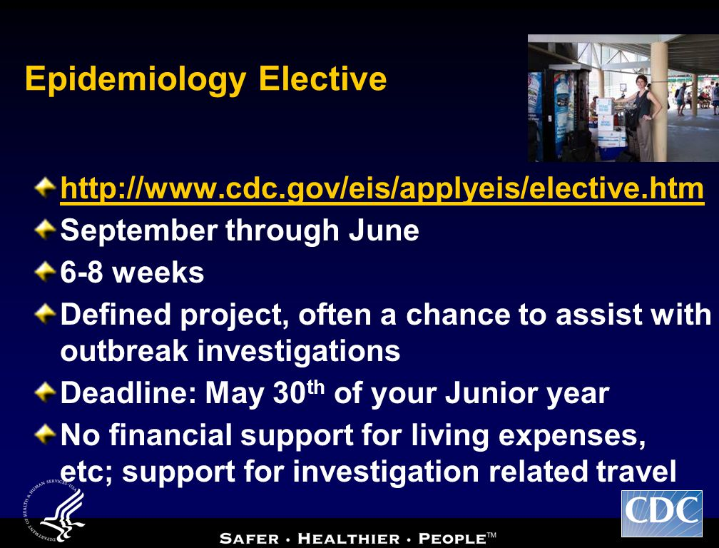 Epidemiology Elective