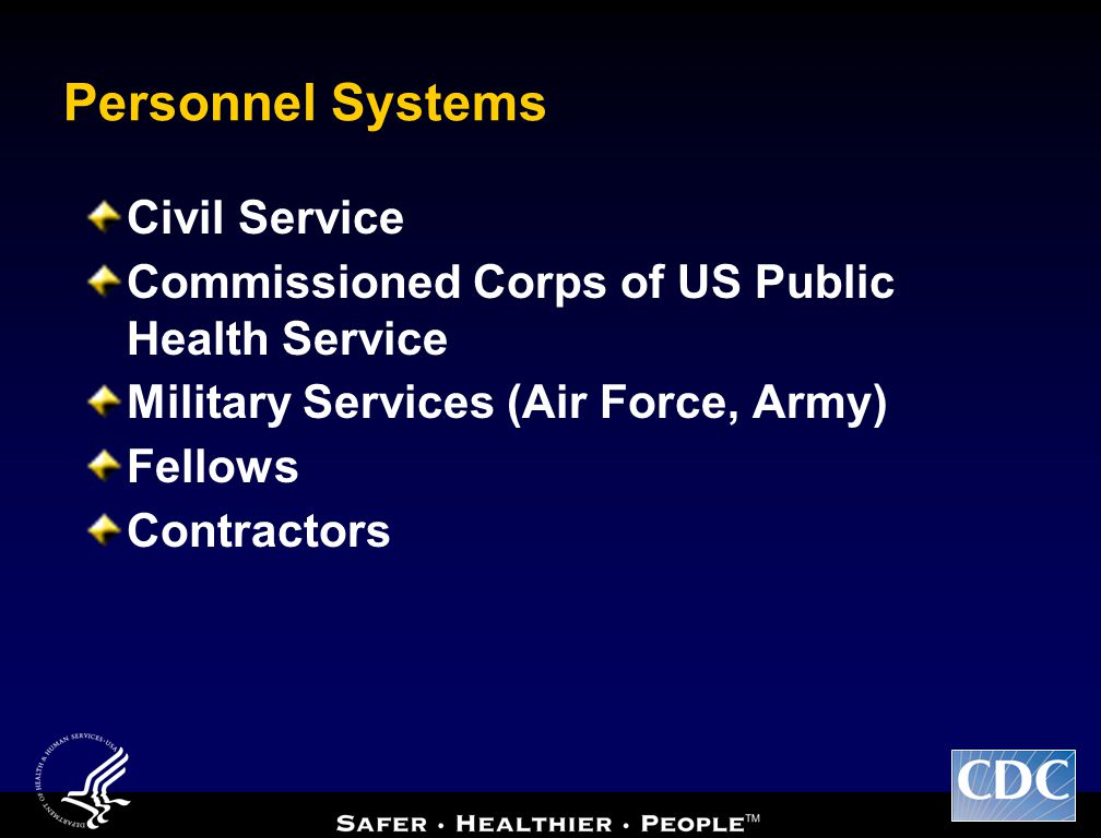 Personnel Systems Civil Service