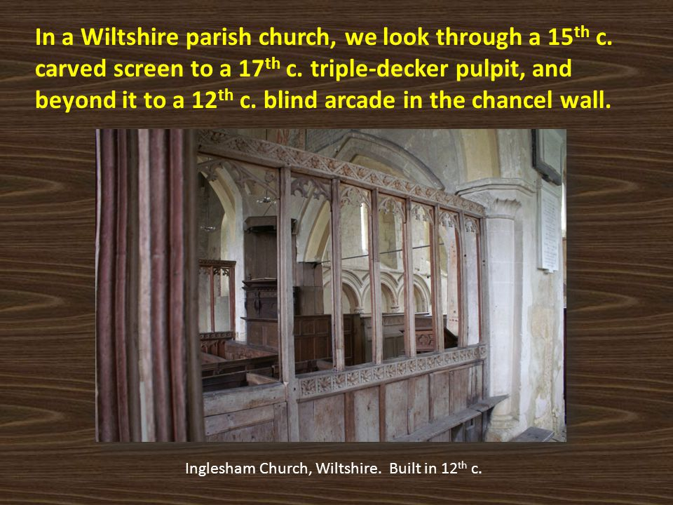 Inglesham Church, Wiltshire. Built in 12th c.