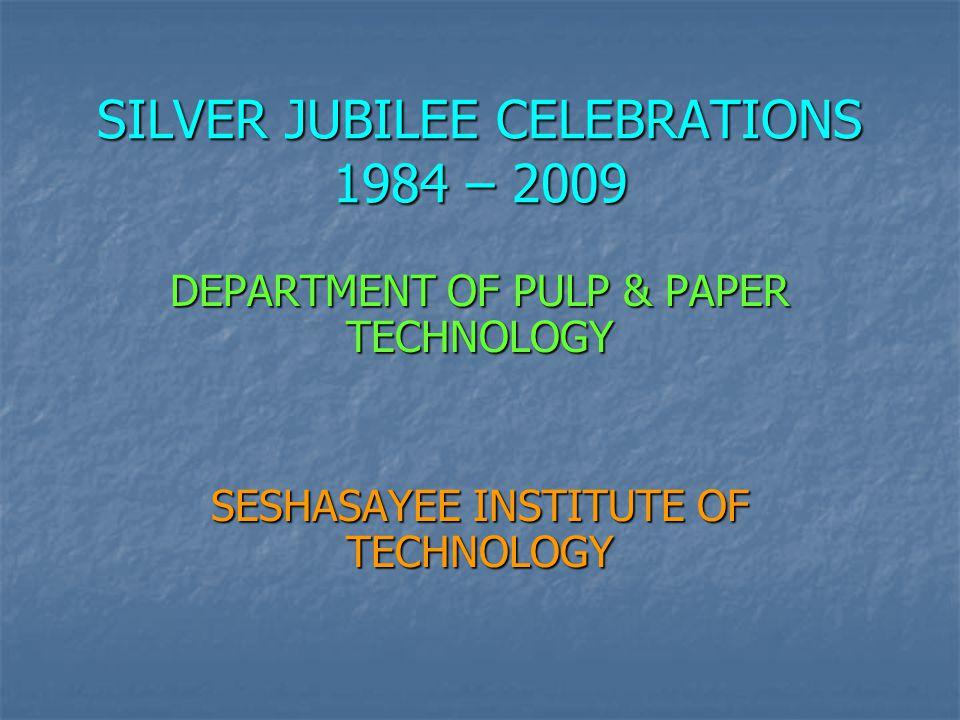 SILVER JUBILEE CELEBRATIONS 1984 – 2009