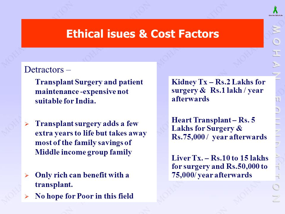 Ethical isues & Cost Factors