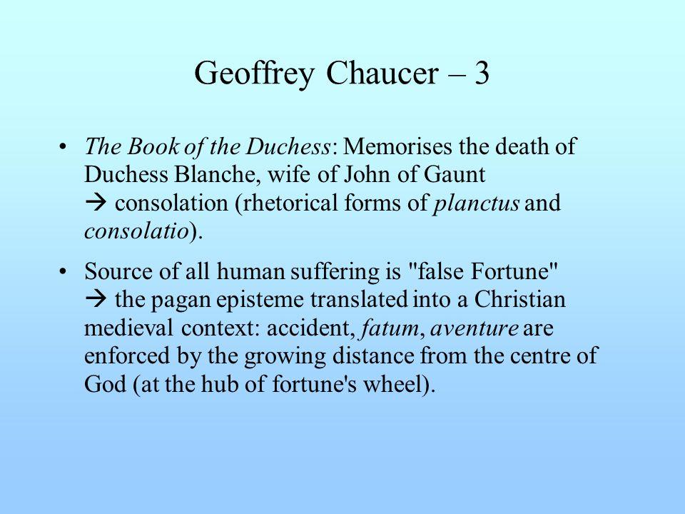 Geoffrey Chaucer – 3