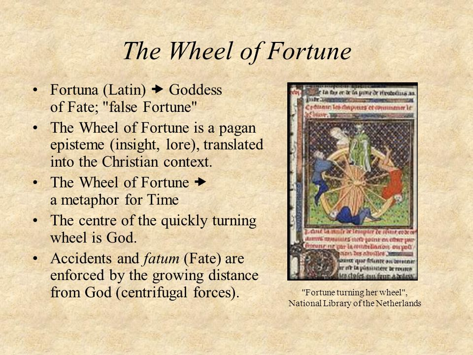 Fortune turning her wheel , National Library of the Netherlands