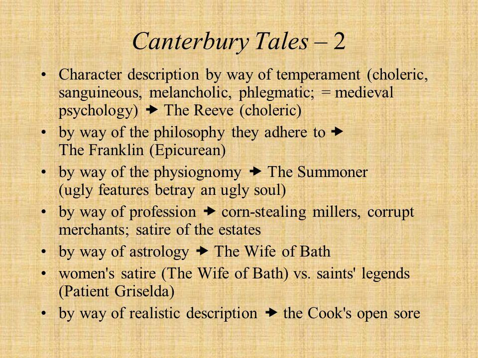 Canterbury Tales – 2