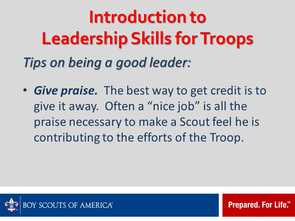 introduction to a good leader Introduction throughout history, the world has seen many good leaders who  possessed a variety of attributes that made them great one only has to think of.