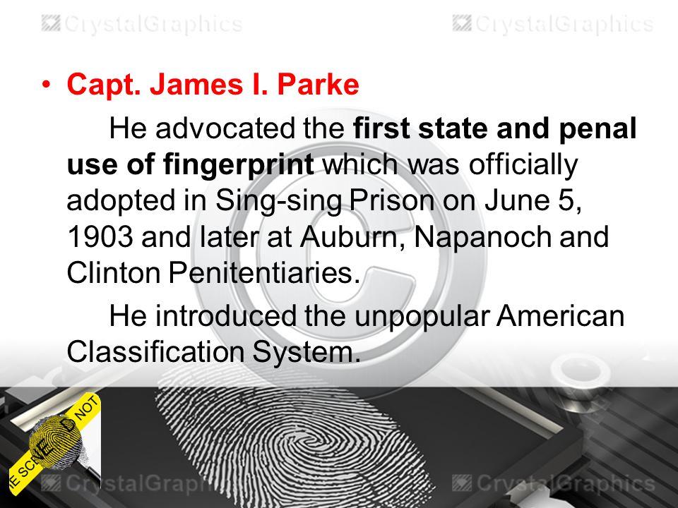 Capt. James I. Parke