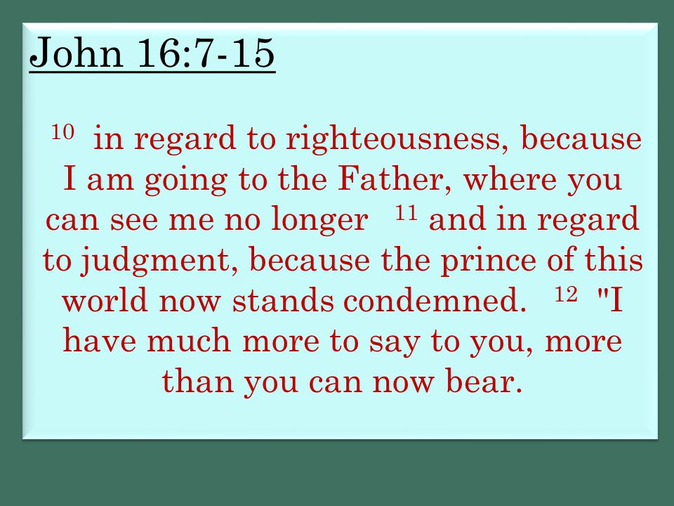 John 16:7-15