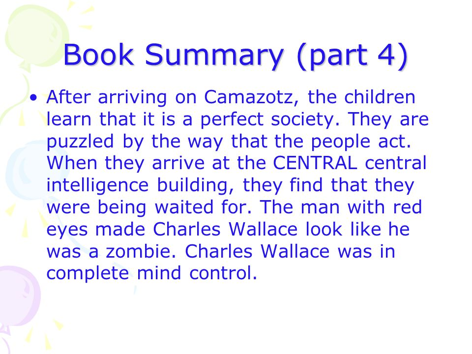 Book Summary (part 4)