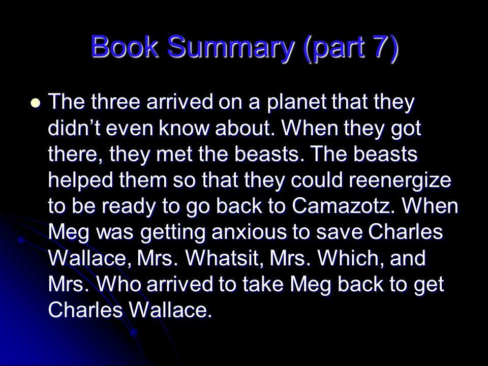 Book Summary (part 7)