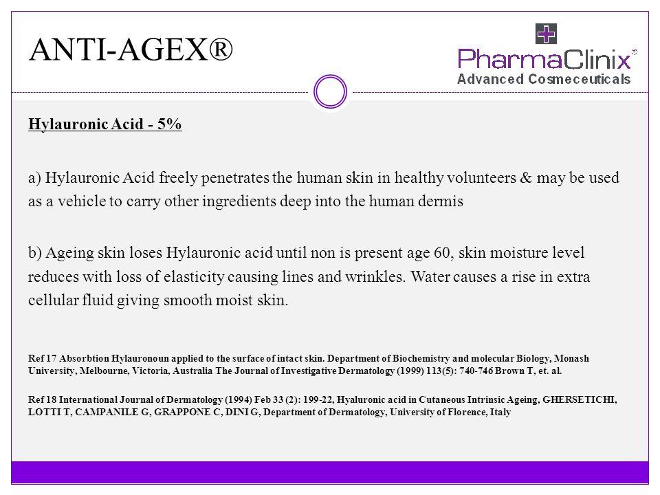 ANTI-AGEX® Hylauronic Acid - 5%