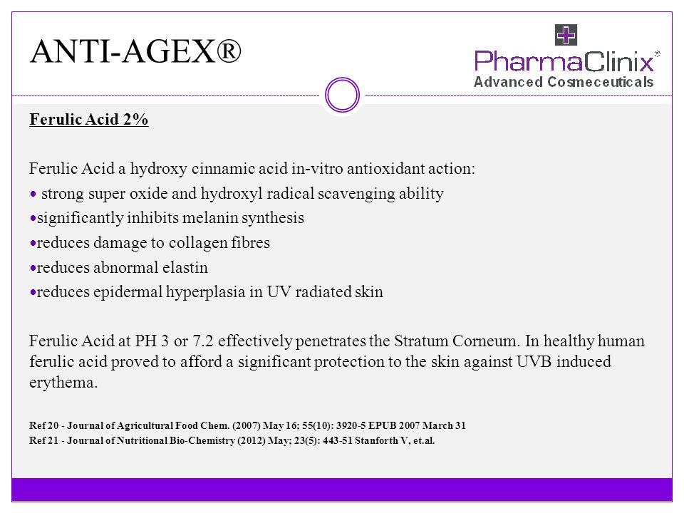 ANTI-AGEX® Ferulic Acid 2%