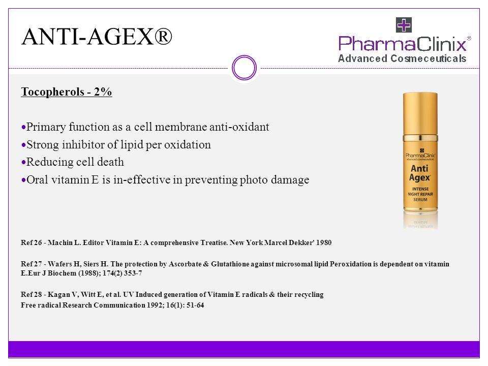 ANTI-AGEX® Tocopherols - 2%