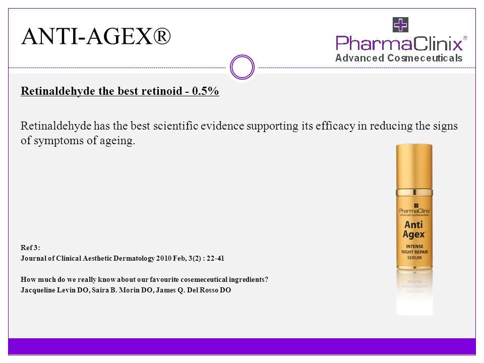 ANTI-AGEX® Retinaldehyde the best retinoid - 0.5%