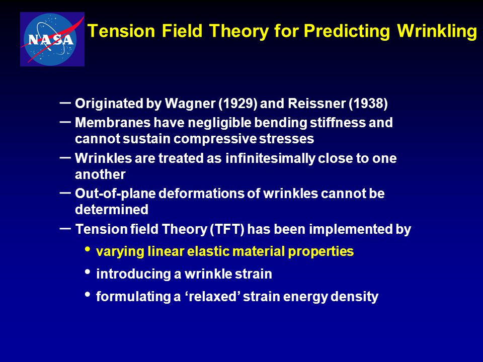 Tension Field Theory for Predicting Wrinkling
