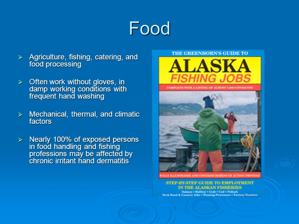 Food Agriculture, fishing, catering, and food processing