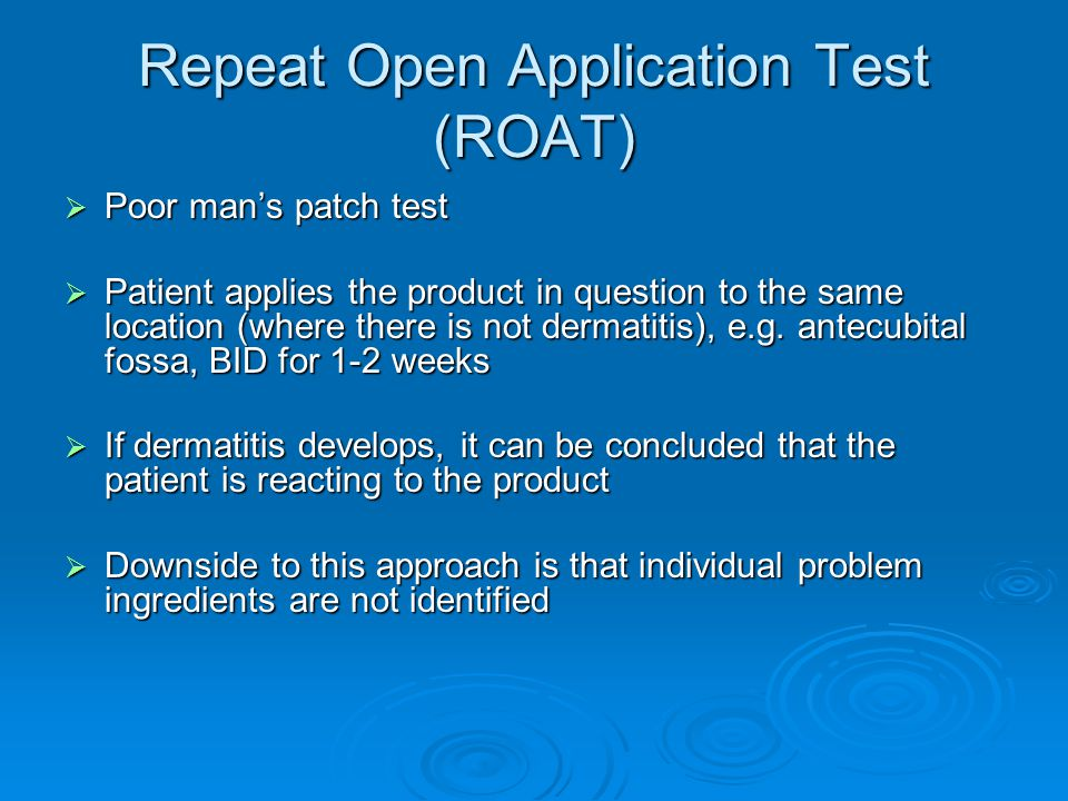 Repeat Open Application Test (ROAT)