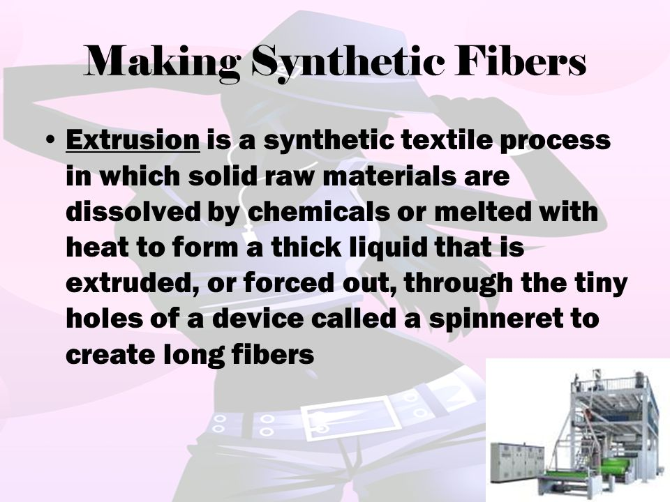 Making Synthetic Fibers