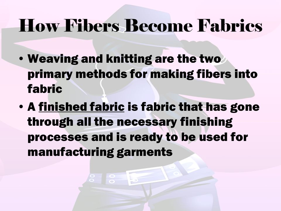 How Fibers Become Fabrics