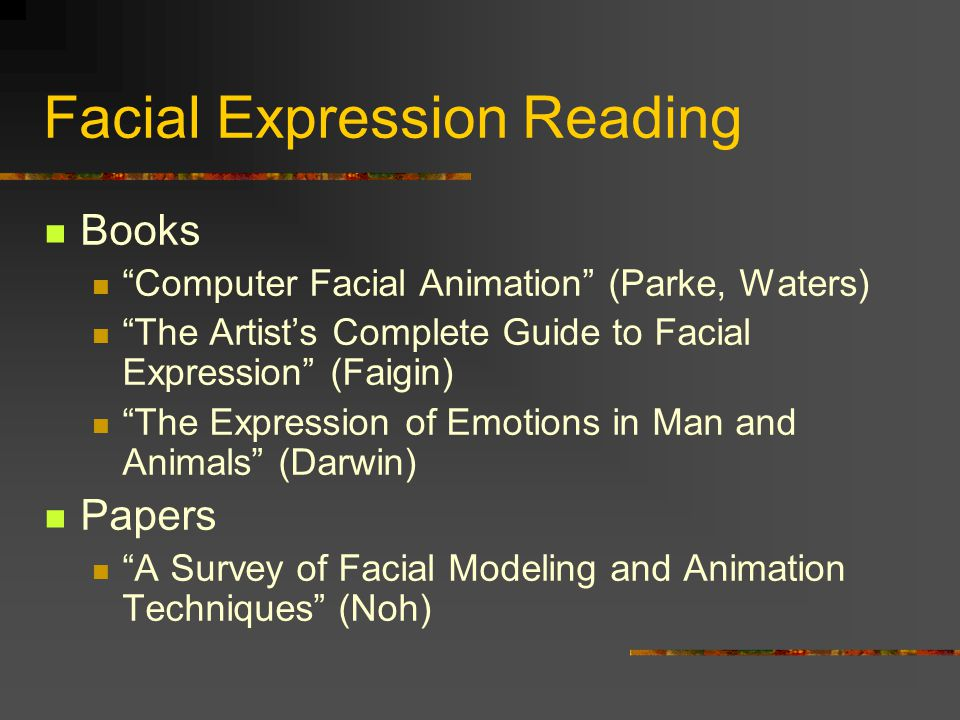 Facial Expression Reading