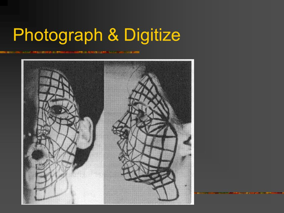 Photograph & Digitize