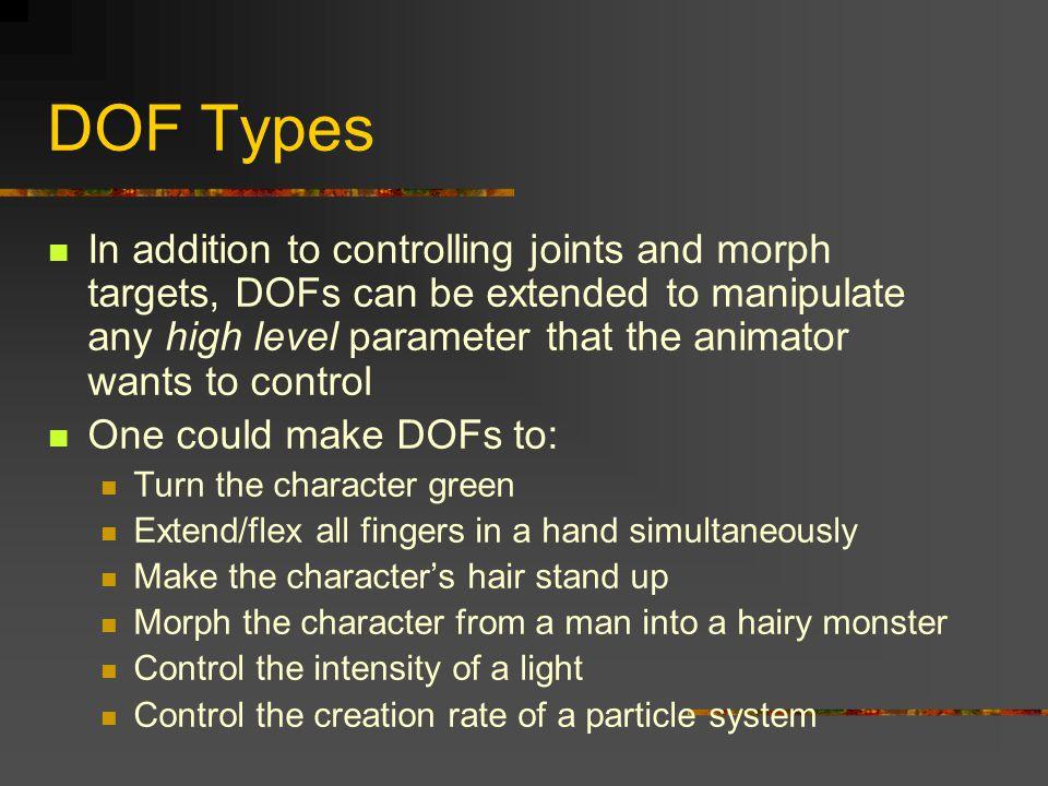 DOF Types