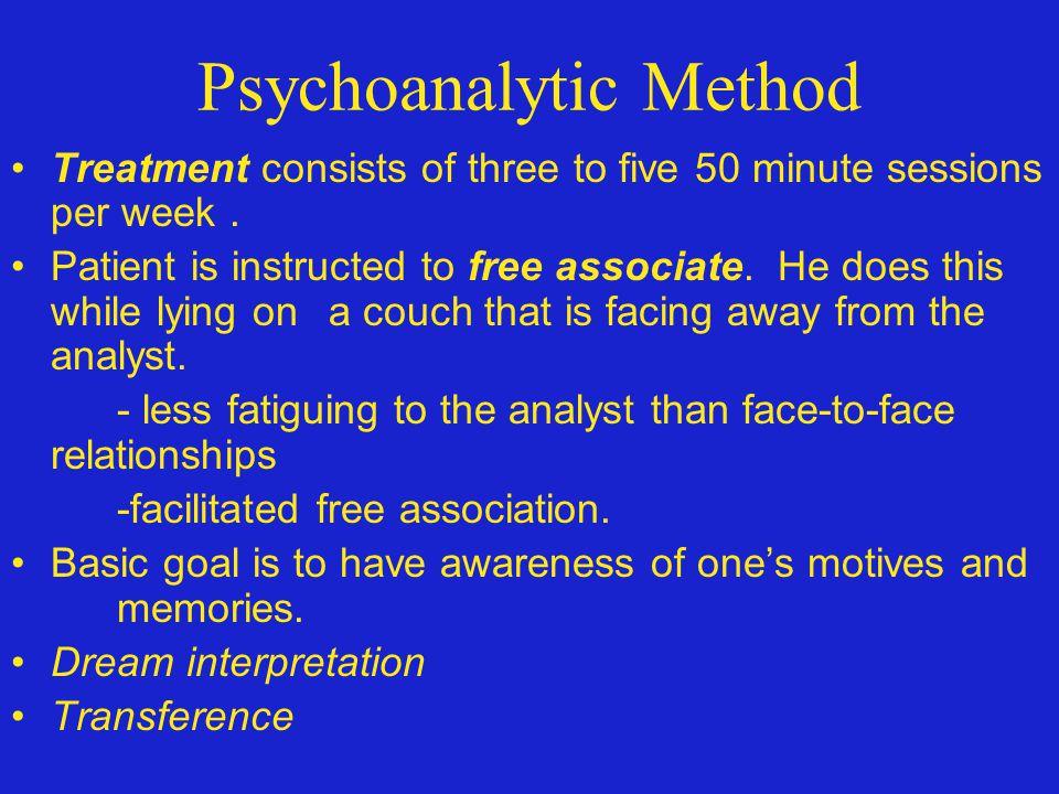Psychoanalytic Method