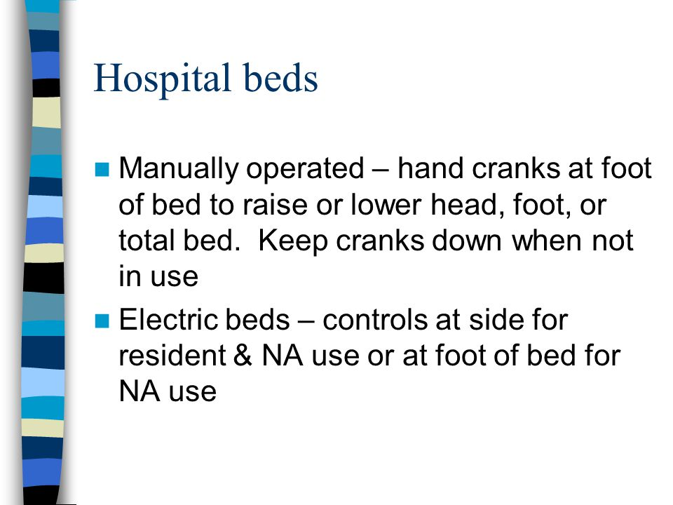 What Are The Differences Between Adjule Beds And Hospital