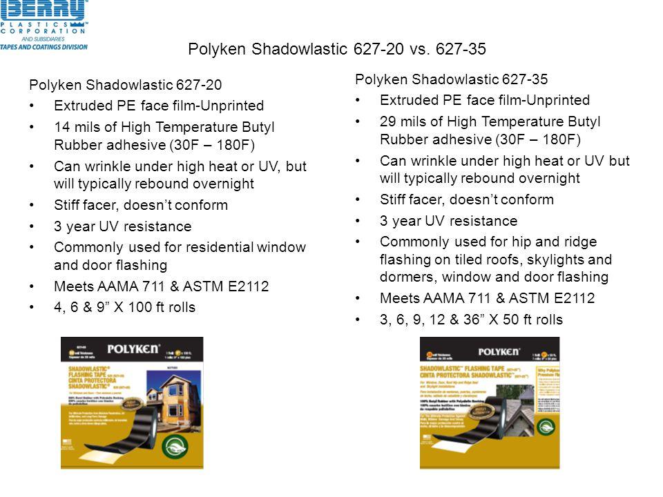Polyken Shadowlastic 627-20 vs. 627-35