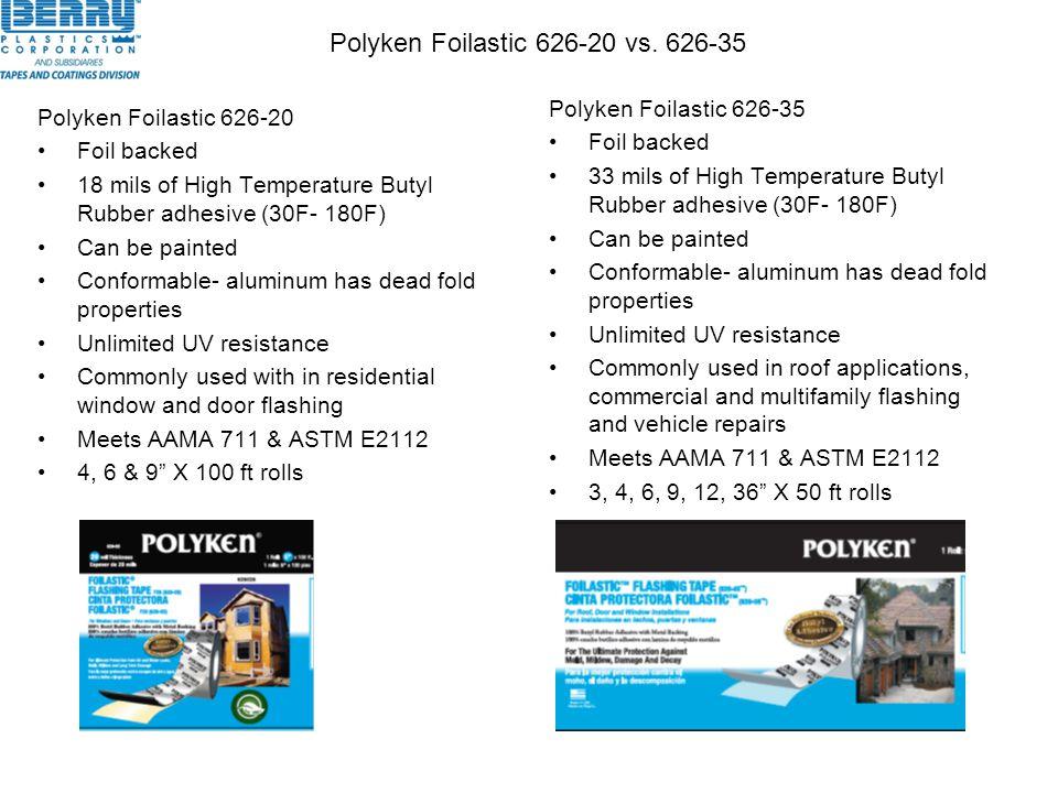 Polyken Foilastic 626-20 vs. 626-35
