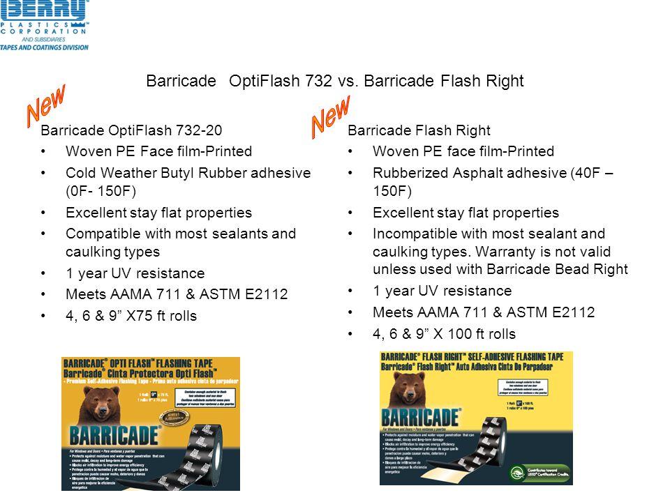 Barricade OptiFlash 732 vs. Barricade Flash Right