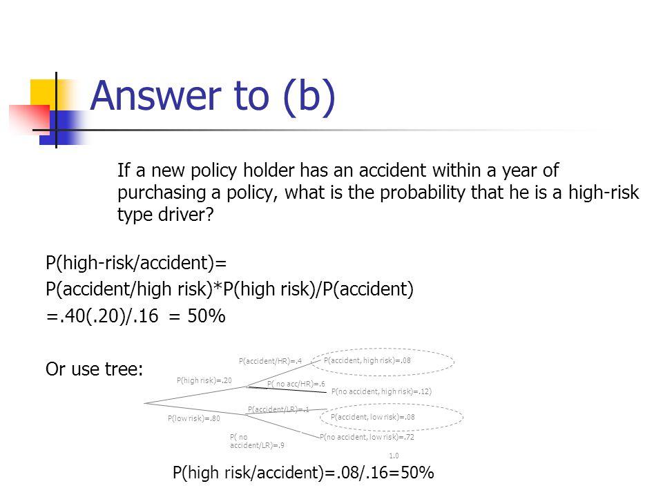 Answer to (b)